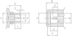 custom HF - NF cables