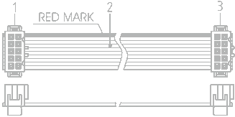 customized manufactured flat ribbon cables