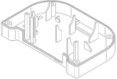 customized plastic case / enclosures