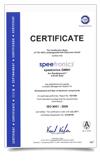 ISO 9001:2000 Zertifikat
